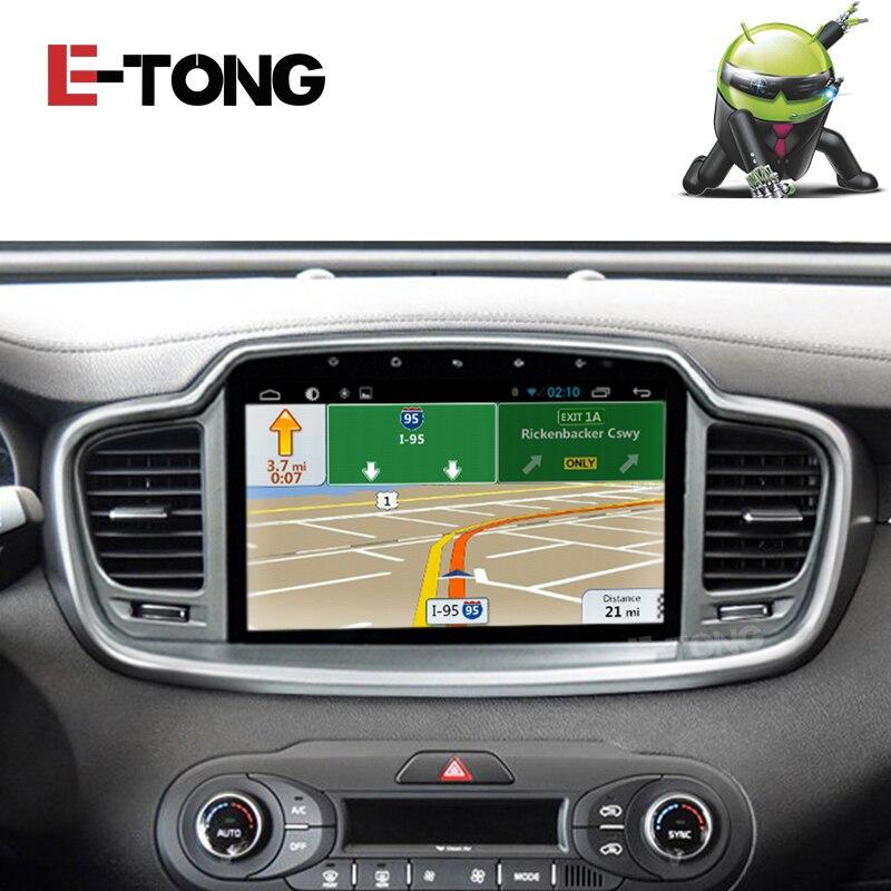 Sistema Android de coches reproductor de radio Del Gps Navi para Kia Sorento 201