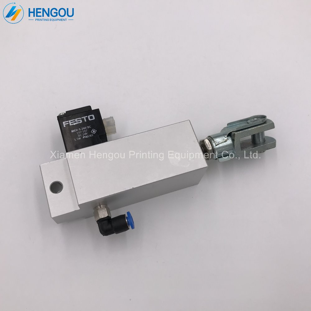 1 piece free shipping water roller solenoid valve 92.184.1011/A for SM102 and CD102 heidelberg 92.184.1011 heidelberg sm102 cd102 cleaning ink roller cylinder 61 184 1111