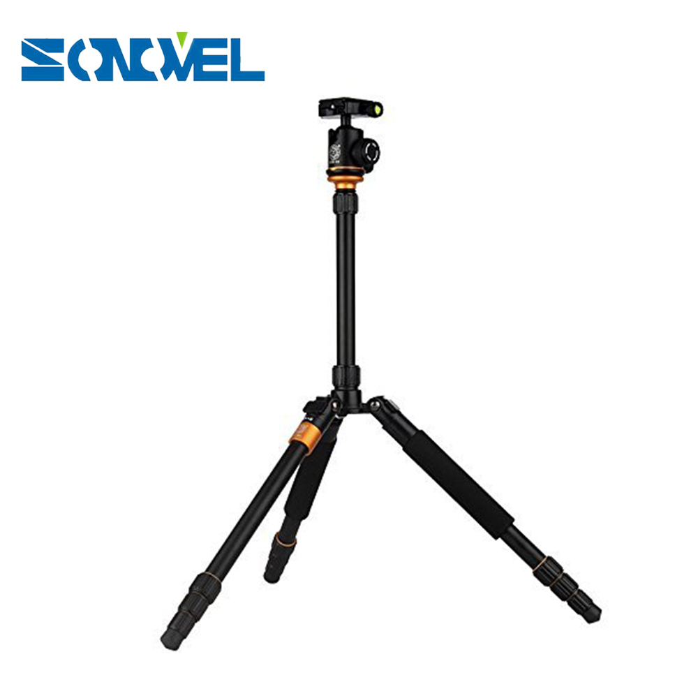 New Upgrade Q999S Professional Photography Portable Aluminum Ball Head+Tripod To Monopod For Canon Nikon Sony DSLR Camera new sys700 aluminum professional tripod
