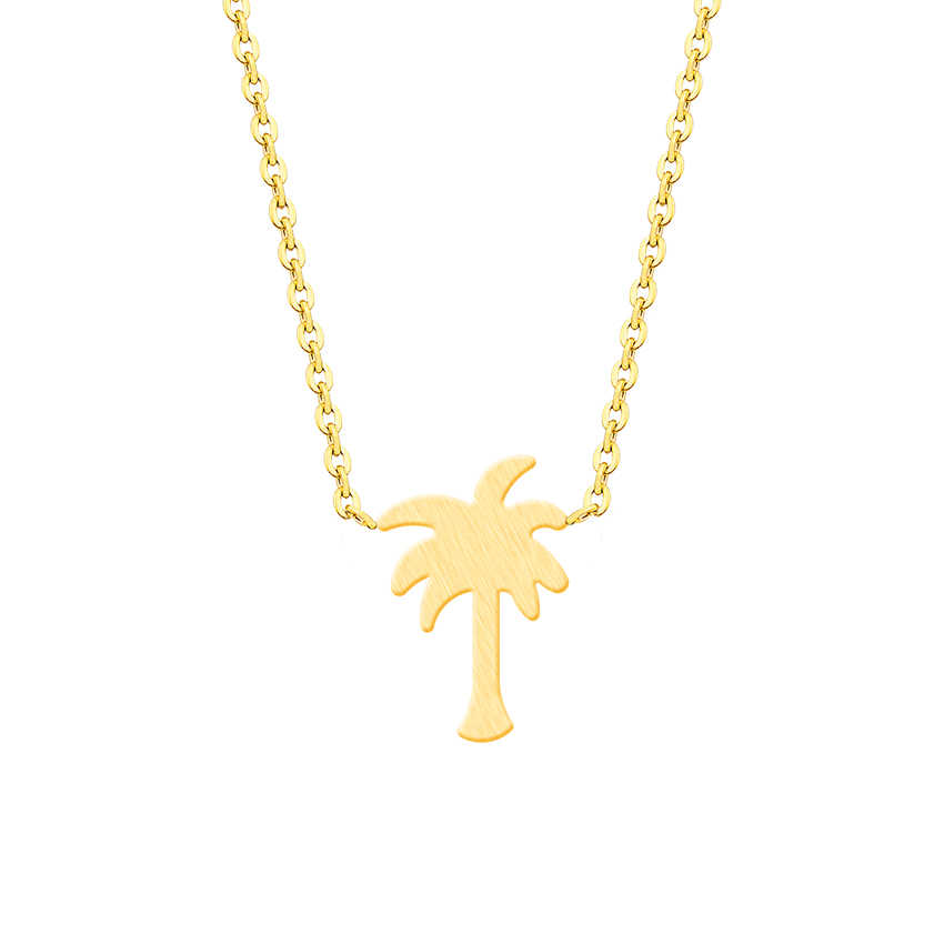 Detail Feedback Questions About Island Life Palm Tree Necklace