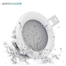 DVOLADOR Waterproof LED Downlight IP65 LED Downlight Spot Light 15W/12W/9W/7W/5W Super Bright AC220V/110V Recessed Ceiling Lamp