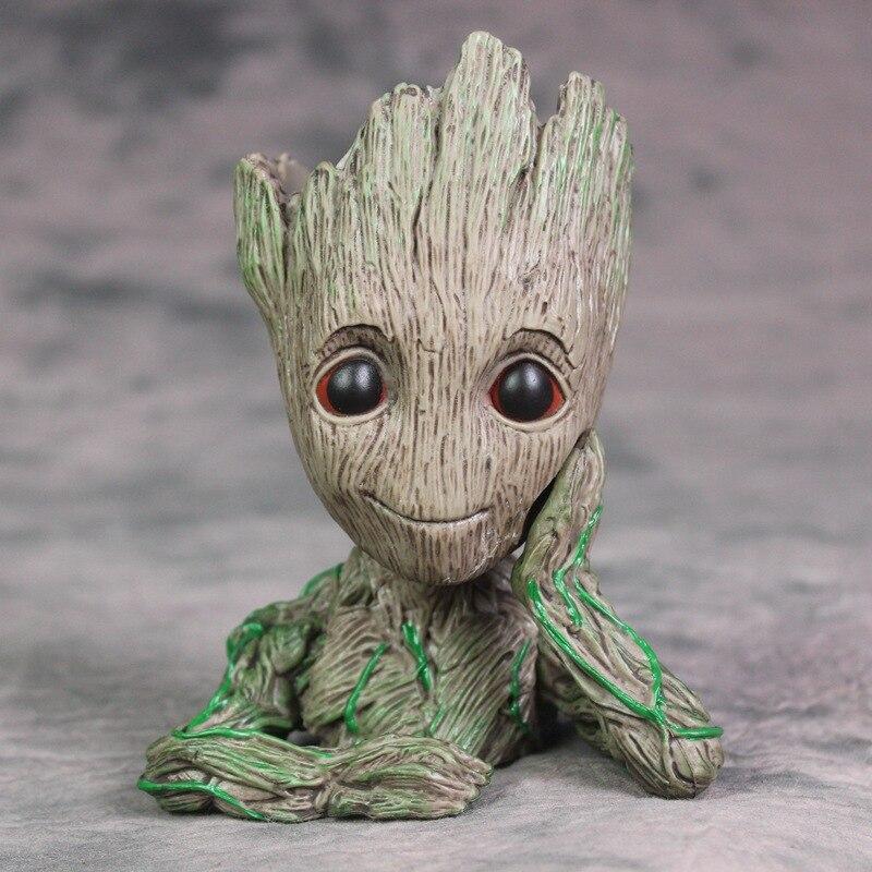 Baum Mann Guardians Of The Galaxy Blumentopf Action-figuren Nette ...