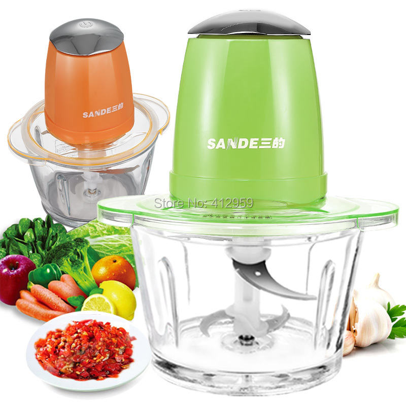 2lhousehold Electric Meat Mincer Minced Meat Baby Food