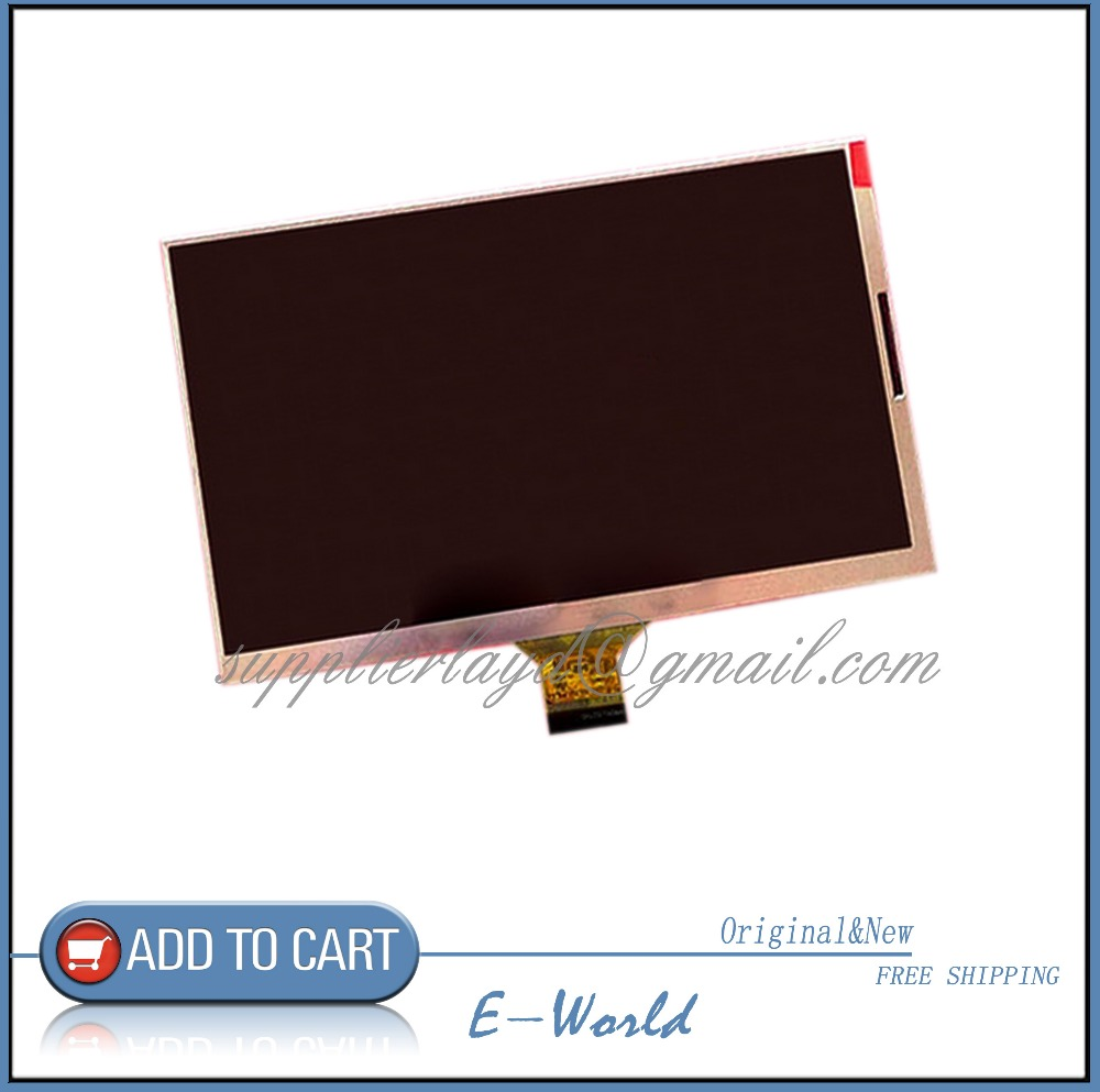 New LCD display matrix MF0701683003A For 7 3G Tablet LCD Screen Panel Module Replacement Free Shipping