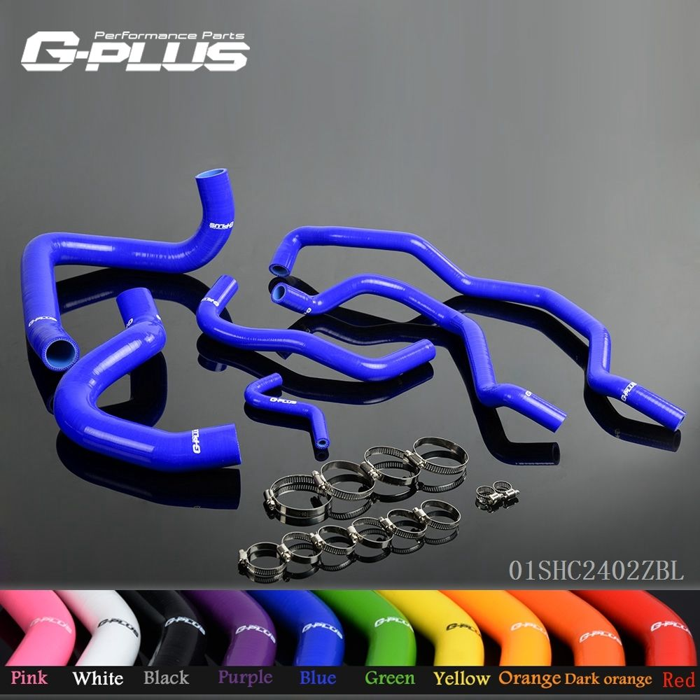 Silicone Radiator Coolant Hose Kit For Alfa Romeo GT 147 156 1.9L JTD 2003-2010  genuine 30723084 engine coolant hose