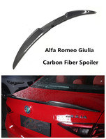 For Alfa Romeo Giulia 2016.2017.2018 Carbon Fiber Spoiler High Quality Car Rear Wing Spoilers Auto Accessories