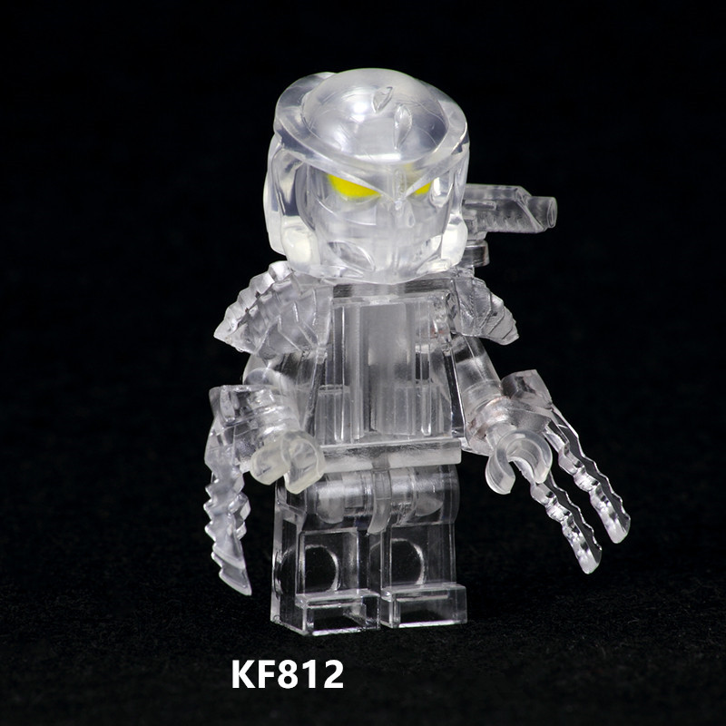 KF812 Single Sale Super Heroes Movies Character The God Of War King Kong Alen Drxe Hatsune DIY Buding Blocks For Kids Toys Gift