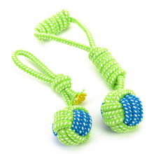 New Dog Toy  Chews Cotton Rope Knot  Ball Grinding Teeth odontoprisis Pet Toys Large small Dogs 7 Style options