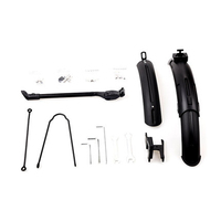 New Upgraded 3rd Generation Original Bike Mudguard And Kickstand For Xiaomi Qicycle EF1 Electric Bike Tyre