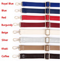 4 Metal Colors! Adjustable Replacement Shoulder Strap Colorful PU Leather Bag Straps for Purses Handbags Accessories DIY Belt
