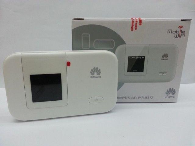 Unlock 4G 150Mbps LTE Pocket Wifi Hotspot HUAWEI E5372 +a pc free TS-9 antenna