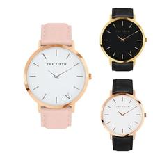 Relojes de las mujeres de Cuero Ultra Delgado Genuino Reloj Masculino de Cuarzo Hombres Del Reloj Del Deporte Impermeable Reloj Casual