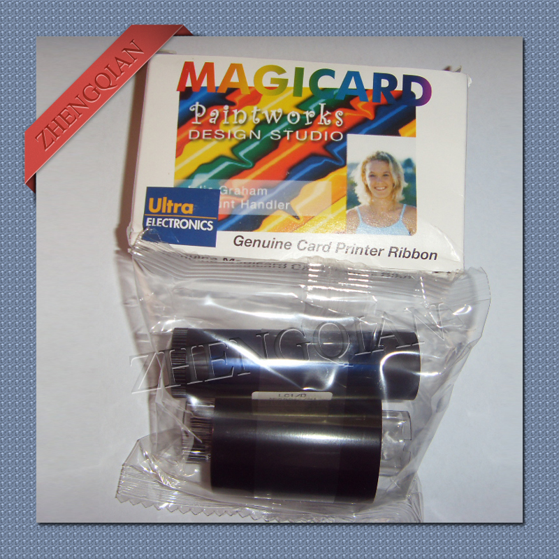 Magicard M9005-751 card printer ribbon LC1 YMCKO color printer ribbon