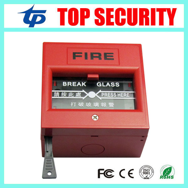 10pcs A Lot Free Shipping Fire Emergency Door Release Exit Release Button Fire Alarm Button Emergency Switch Button