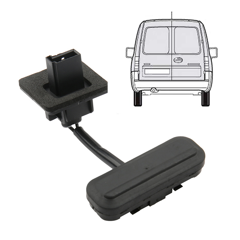 X AUTOHAUX Car Boot Tailgate Release Switch Plastic Rear Door Release Trunk Switch Black for Opel 13422268