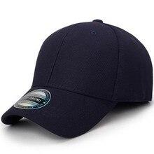 2018 Black Baseball Cap Men Snapback Hats Caps Men Flexfit Fitted Closed  Full Cap Women Gorras 6ead61d7f97f