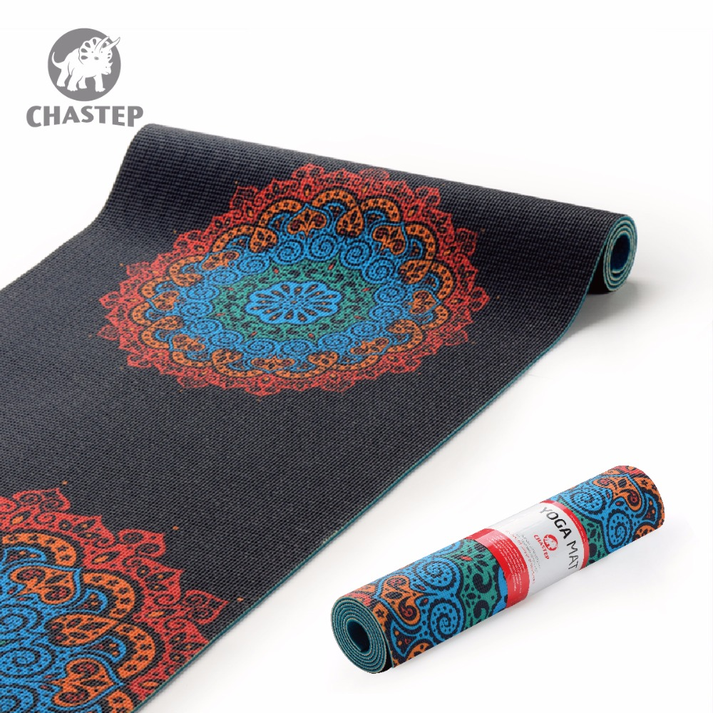 Chastep183x61cmx6mm Thick PVC Yoga Mats Fitness Environmental Tasteless Lose Weight Exercise Fitness Yoga Gymnastics Mats Indoor 6mm thickening yoga beginners non slip tpe yoga mats fitness environmental tasteless fitness yoga gym exercise mats 183 61 0 6