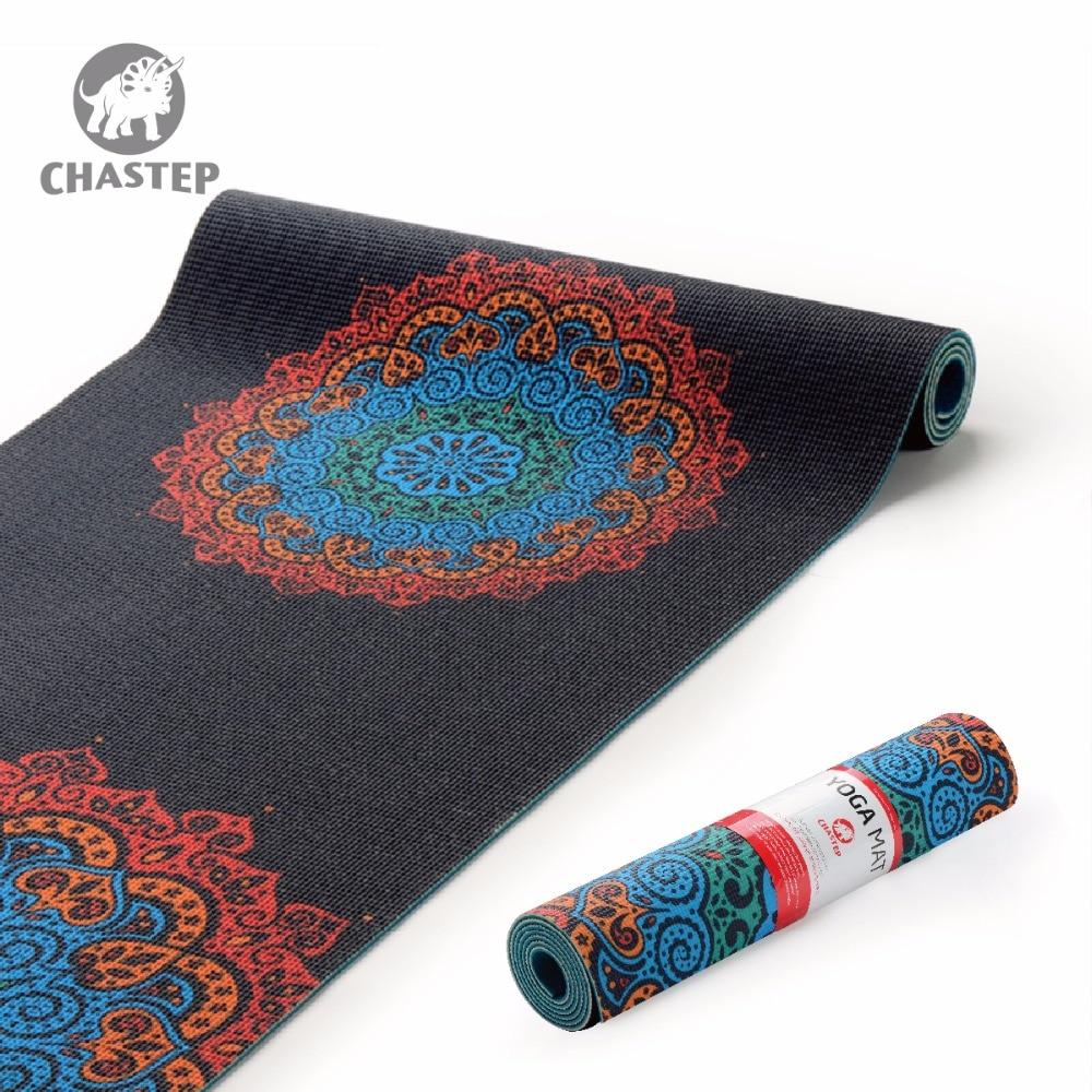 Chastep183x61cmx6mm Dicke PVC Yoga Matten Fitness Umwelt Geschmacklos Abnehmen Fitness Yoga Gymnastik Matten Indoor