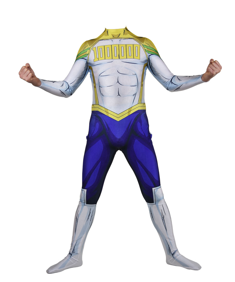 Lemillion <font><b>Mirio</b></font> Togata My Hero Academia <font><b>Cosplay</b></font> Costume Lycra Zentai Bodysuit Halloween Party Suit image