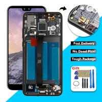 5.8 LCD For Huawei P20 LCD Display Touch Screen Digitizer Assembly + Frame For Huawei EML L29 EML L22 EML L09 EML AL00 LCD