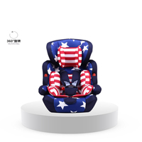 2016 New High Quality Hot Sale 9 months 12 years old child safety seat infant car seat send isofix belt child's easy car seat
