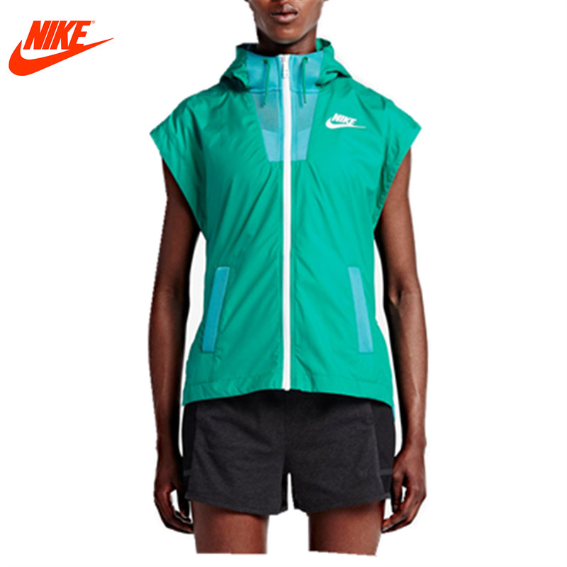 Nike women's spring breathable training running vest Green Hoodie 802550-345 : 91lifestyle