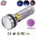 AloneFire 41 LED UV Light 1 mode 395-400nm LED UV Flashlight UV Torch