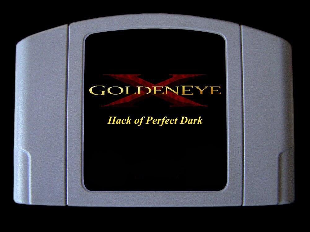 64bit game GoldenEye X 5D Hack of Perfect Dark Hack Version USA Version