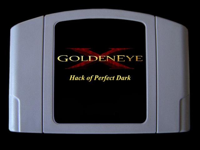64 bitowa gra ** GoldenEye X 5D Hack Perfect Dark (wersja Hack!! Wersja USA!!)