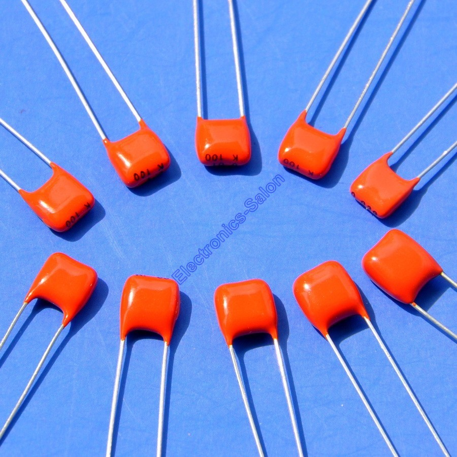 100nF 220nF 330nF 470nF 2.2uF 250V Polyester Film Capacitors Radial Multi Qty