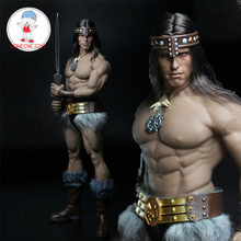 1/6 Scale Soldier Conan Head Carving Costume Group Arnold Head Edition Model for 12 Inches M35 Body Figure Pre-sale(China)