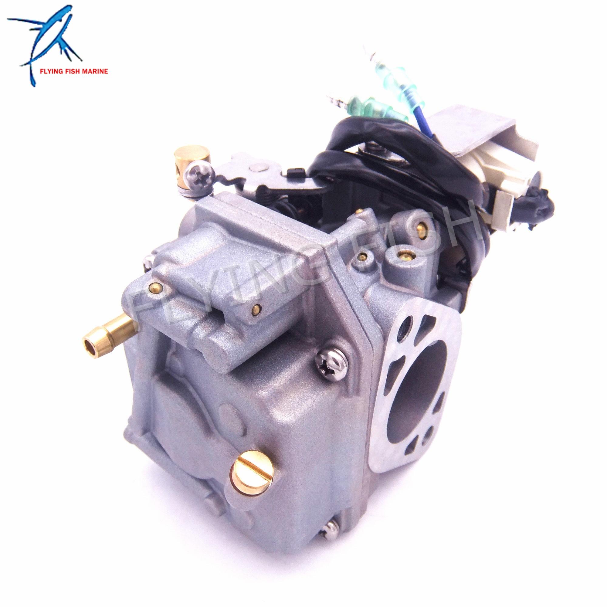 船外機エンジンキャブレター Assy 6AH 14301 00 6AH 14301 01 ヤマハ 4 ストローク F20 ボートモーター送料無料  グループ上の 自動車 &バイク からの ボートエンジン の中 1