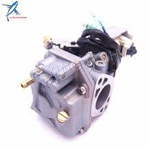 Conjunto de carburador de Motor fueraborda, 6AH 14301 00 6AH 14301 01 para Yamaha, F20 Motor de barco de 4 tiempos, Envío Gratis