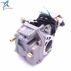 Outboard Engine Carburetor Assy 6AH-14301-00 6AH-14301-01 for Yamaha 4-stroke F20 Boat Motor Free Shipping