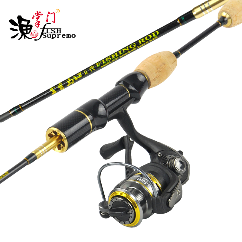 N 6 39 ultra light fishing rod and and reel combo us307 for Light fishing rods