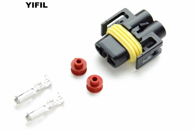 Super 10Pcs Lot 2 Pin H8 H11 Female Adapter Wiring Harness Socket Car Auto Wiring 101 Taclepimsautoservicenl