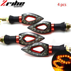 4pcs FOR bmw 2Pair Universal 12V 12 LED Motorcycle Turn Signal Indicators Lights/lamp Motorcycle Best Selling Lights for ktm bmw