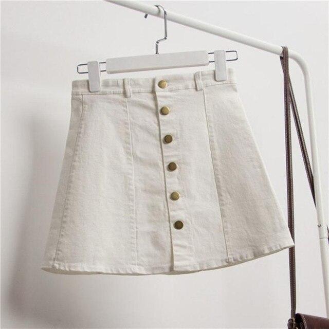 Denim Skirt YEL 2