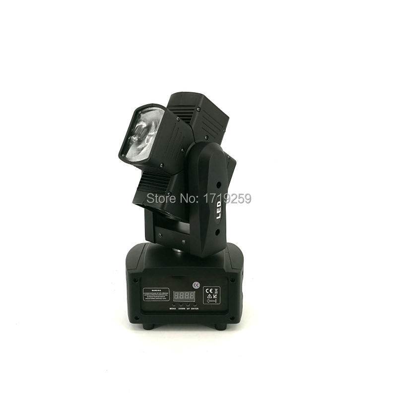 4pcs/lot Hot Wheel LED Beam Moving Head Light 4x10w RGBW 4in1 Rotating LED Stage Lighting Perfect effect for DJ Disco Party