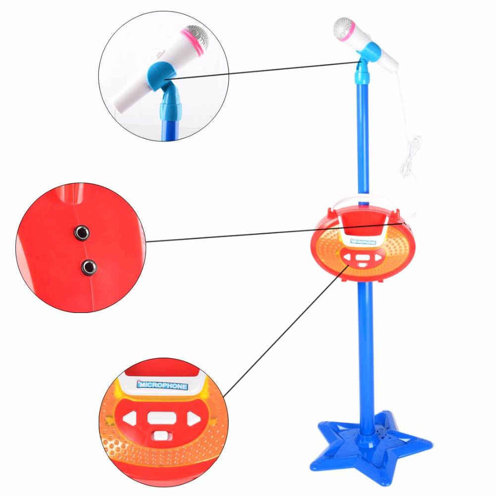 Surwish-Portable-Kids-Karaoke-Machine-Toy-Adjustable-Star-Base-Stand-Microphone-Music-Play-Toy-3