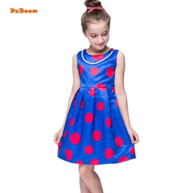 07563585ad3d33 Kleid Dot Perle Für Dzboom Mädchen Blau Kleine Kleider 76ybfvYg