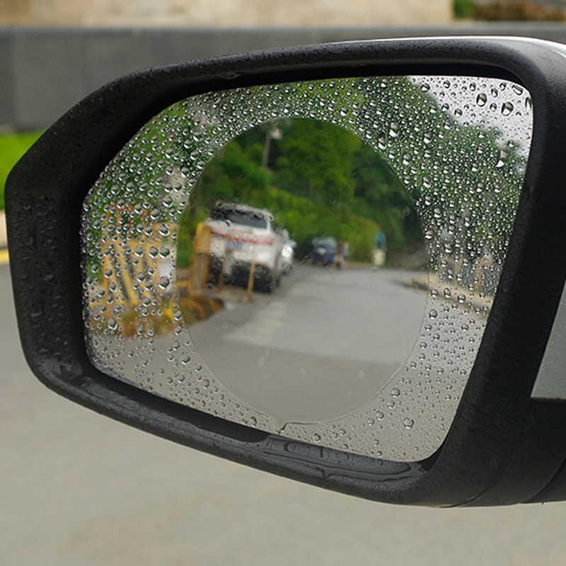 車アンチフォグ防雨バックミラーフィルムフォードフォーカス 2 3 フィエスタモンデオ久我シトロエン C4 C5 シュコダオクタ迅速な極上