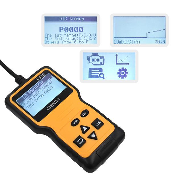 AOSHIKE OBD Diagnostic-Tool OBDII Protocols Smart Scan Tool  Code Reader Engine Check OBD2 Scanner Professional