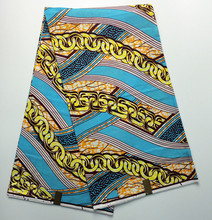 Afrikanische S163716 hollandais dutch wachs stoff für frauen partei edle kleid & schuhe, 100% Baumwolle Batik Hohe qualität super wachs 6 yards