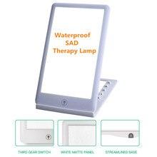 Бесплатная доставка грустная терапия лампа 3 режима сезонные аффективное расстройство фототерапия 6500 К дневной свет портативный свет терапия энергия лампа