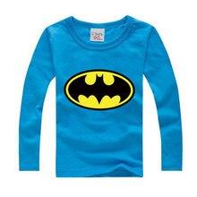 0080e4e6ae9 Girls Tees Clothes Children T shirts Autumn Spring Batman Cartoon Baby Boys  T Shirt Long Sleeve Cotton Teenage Girl Clothing Top