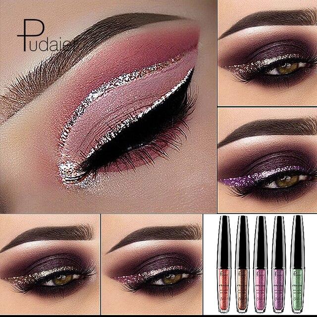 New Liquid 16 Colors Shimmer Eyeliner Gel Waterproof Long Lasting