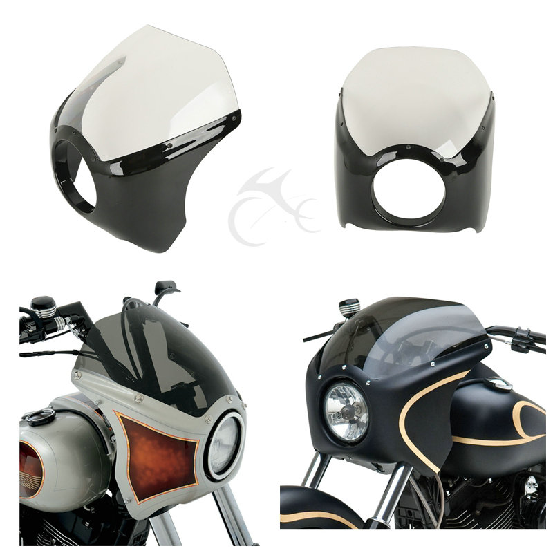 Automobiles & Motorcycles Honest Tcmt Narrow Wide Glide/custom Mid Glide Fairing Kit For Harley Davidson Motorcycles Touring Softail Dyna Sportster Xl 883 1200