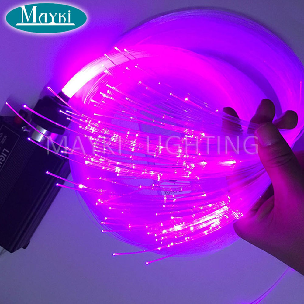 Maykit 2700m/Roll 0.75mm Pmma Japan Mitsubishi Brand Fiber Optic Cable End Light For Diy Kids Room Starry Ceiling Light