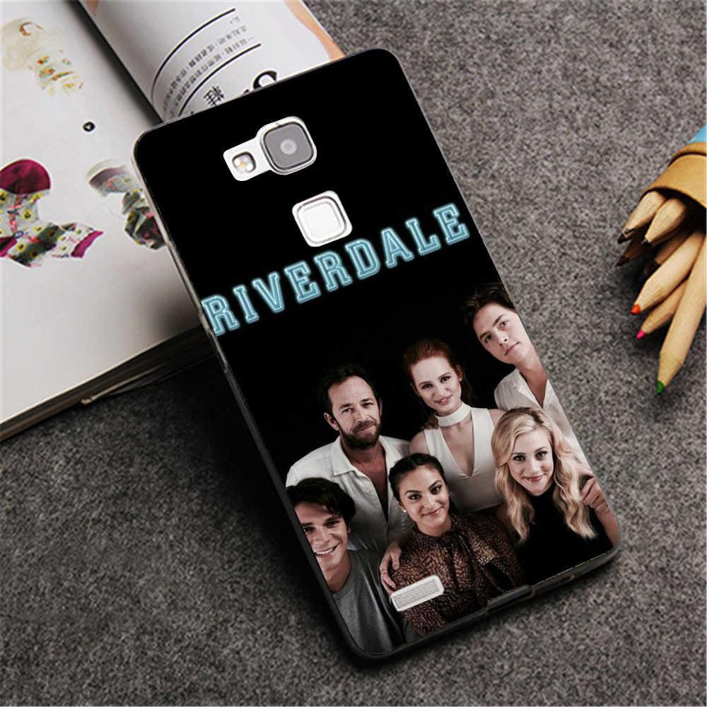 TPU Khuôn Mẫu TRUYỀN HÌNH Mỹ Riverdale phong cách Trường Hợp Đối Với Huawei P20 Người Bạn Đời 10 P10 Lite P20 Pro P8 P9 Lite 2017 cho Honor 8 9 Lite Bìa